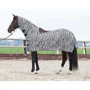 Vliegendeken zebra met zadeluitsparing maat 195 NIEUW!