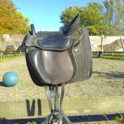 Semi-boomloos Trekker Classic Zadel zwart donkerbruin