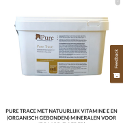 Nog dichte emmer Pure Trace vitamines!