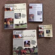 Paard Natuurlijk multimedia set Natuurlijk Bekappen dvd boek