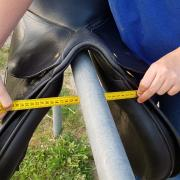 Bates Caprilli vzh zadel 17,5 inch