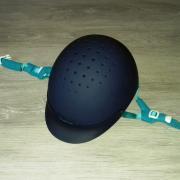 Verstelbare cap / veiligheidscap, Fouganza, blauw, maat S