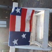 Amerikaanse vlag western blanket