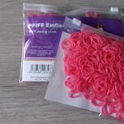 Manenelastiekjes - roze