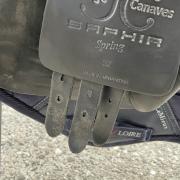 JC Saphir springzadel 17 inch, boommaat 31