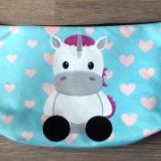 Toilettasjes met eenhoorn/unicorn print