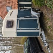 Blomert 1,5 paards trailer