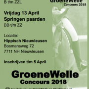 Groenewelle Concour 2018