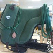Barebackpad brockamp support groen