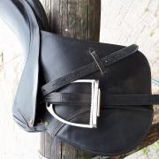 18 inch zadel van het merk Haflinger