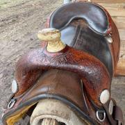 Bob Marshall zadel 66 cm (+/- 16 inch western)