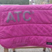 ALS NIEUW Knal-Roze ATC ANKY spring pad met Glitter letters