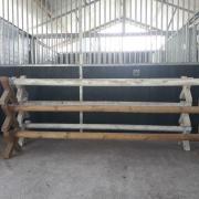Cavaletti met kruisjes 6 stuks geimpregneerd sterk hout