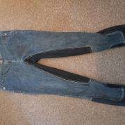 Zeer nette jeans rijbroek