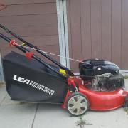 LEA aangedreven benzine grasmaaier/motormaaier 140 cc