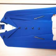 Kobaltblauw wedstrijdjasje 36