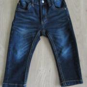 Spijkerbroek maat 80 baby blue