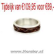 Paardenhaar ring