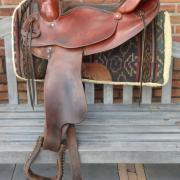 Montana Western zadel