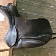Seabis Vigo dressuurzadel 17.5 inch W (aanpasbaar)