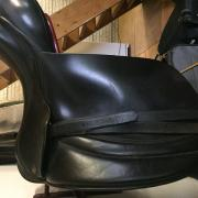 Hulsebos dressuur zadel 18 inch