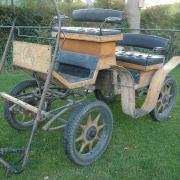 Super leuke houten menwagen opknapper!