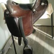 "spezialized saddle international 15"" western maat"