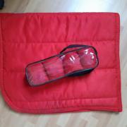 Rood full dekje + bandages