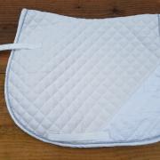 NIEUW wit VZ Full dekje met lovertjes