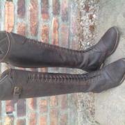 bruine dressuur laarzen