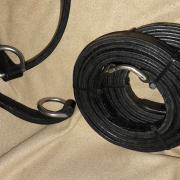 Gezocht: Leren strengen 2,5cm breed voor mentuig tuig