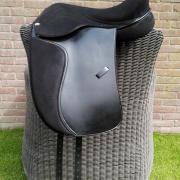 Boomloos dressuurzadel, flexee, heather moffett, 18 inch