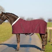 Profi-Rider Showdeken Burgundy