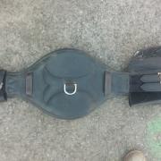 Anatomische singel topfit 65cm zwart met bruin