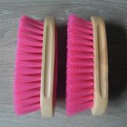 Harde en zachte borstels - roze of aqua