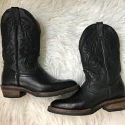Prachtige zwarte boots / westernlaarzen maat 40,5.
