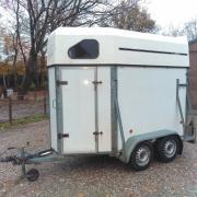 Te koop: anderhalf paards trailer, Weijer, opknapper