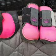Peesbeschermers set roze