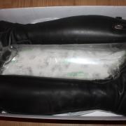Deniro rijlaarzen, donkerbruin, maat 42