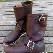 Red Wings oiled leather boots laarzen 38