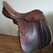 Hubertus ponyzadel 17,5 -18 inch