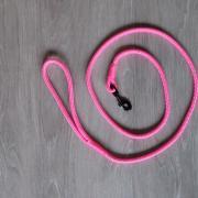Looplijn / hondenlijn in neon roze