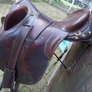 Australisch stockzadel 18 inch