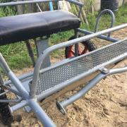Oesterkte Sulky van Aars wagenbouwer