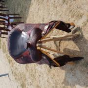 Cattleman's reining zadel