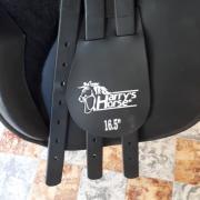 """Harry's Horse 16,5"""" zadel kunststof VZH"""