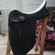 Dressuurzadel BR 17,5 inch