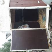 1,5 paards trailer met nieuwe bodem en wanden