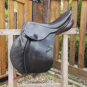 Kentaur springzadel 17,5 inch