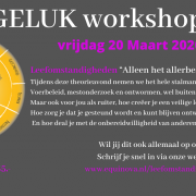 20 maart: Workshop - (Stal)management, de basis tot geluk